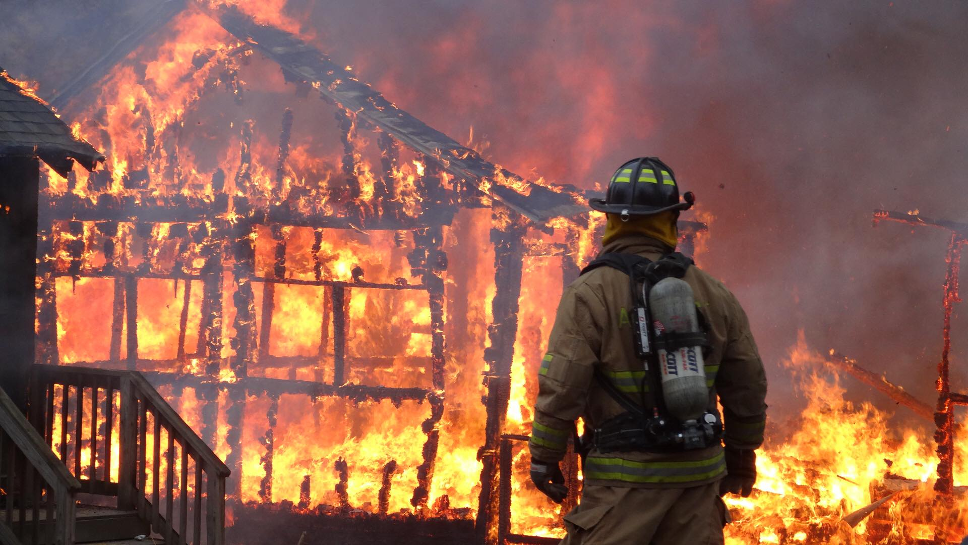 RF Connect Program Manager Earns Firefighter One Certification